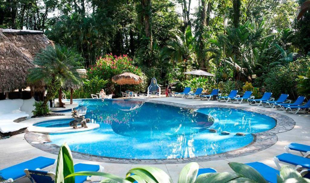 Cariblue Beach and Jungle Resort Pool