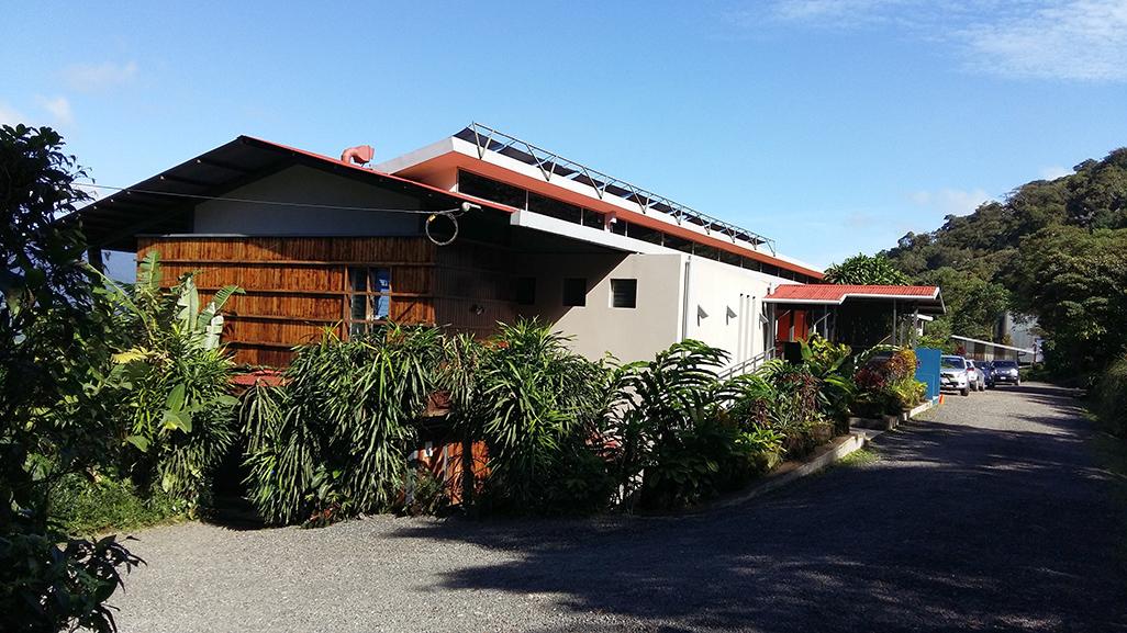 Celeste Mountain Lodge From Outside