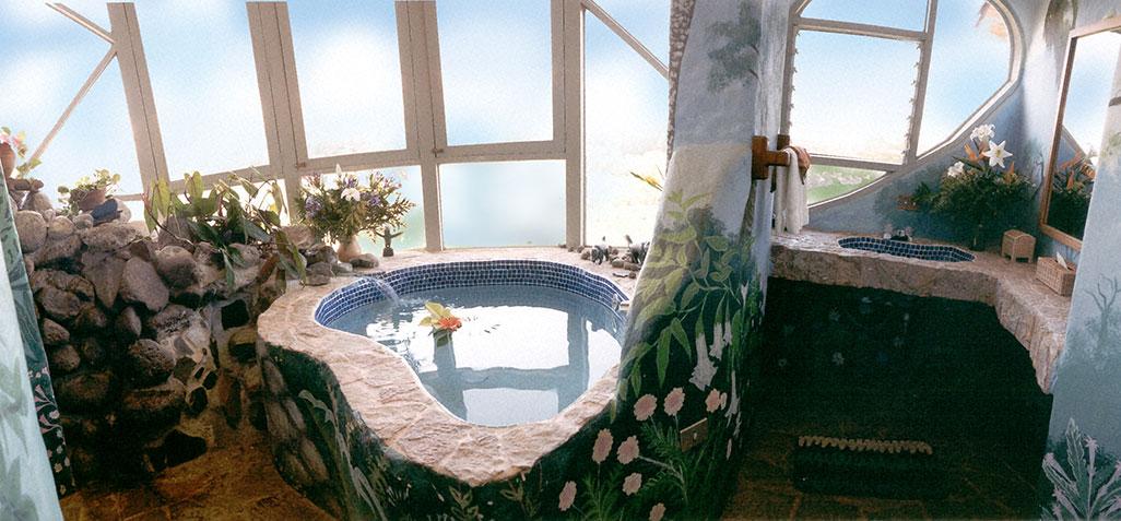 Finca Rosa Blanca Master Suite Bath Tub