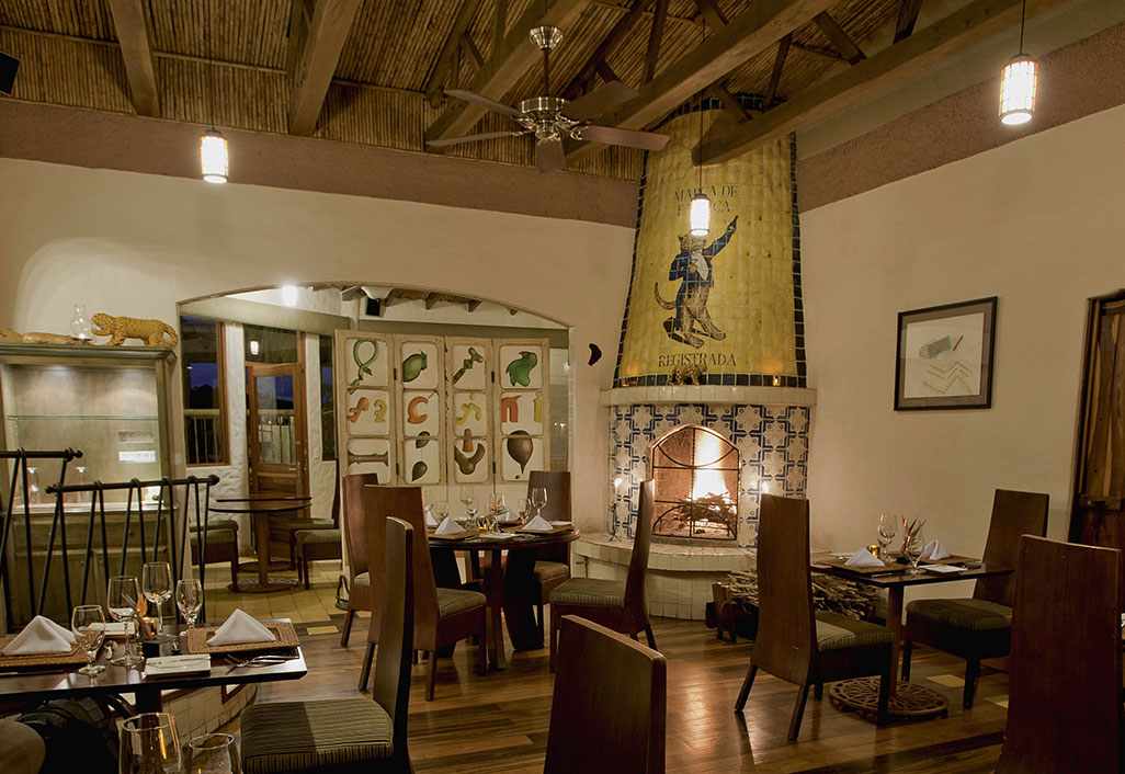 Restaurant Fireplace