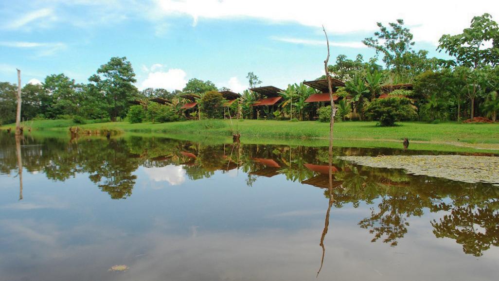 Maquenque Bungalows Lagoon