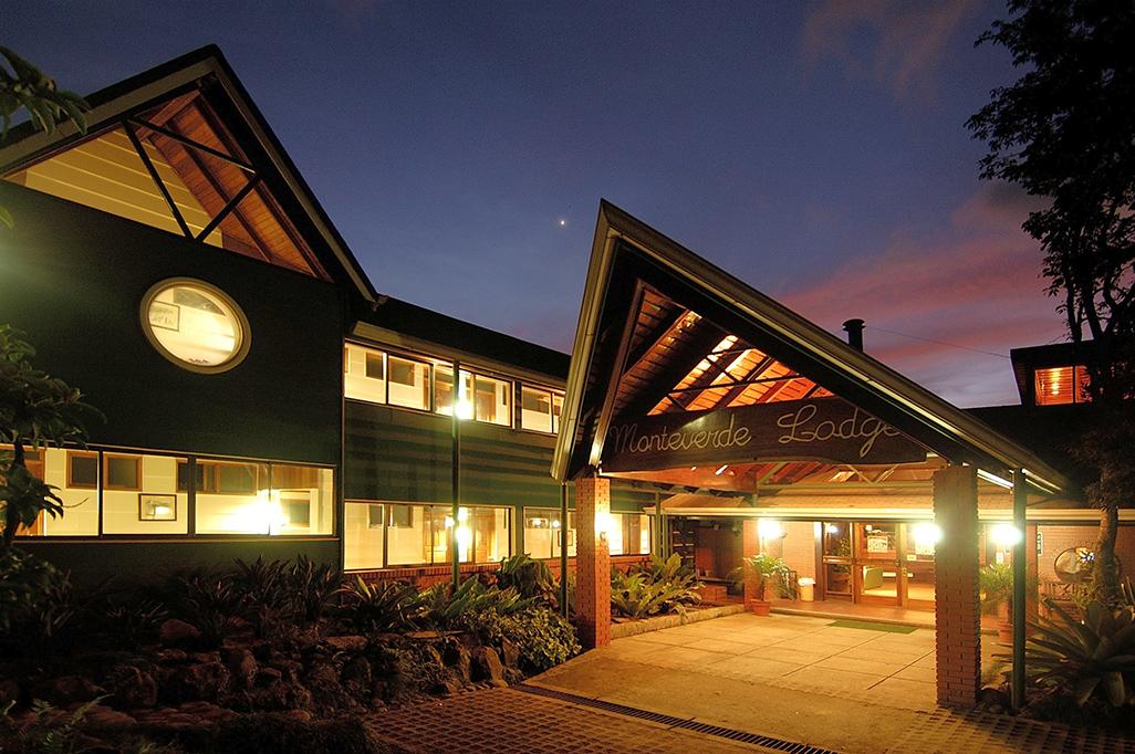 Monteverde Lodge At Night