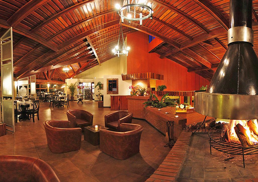 Monteverde Lodge Fireplace
