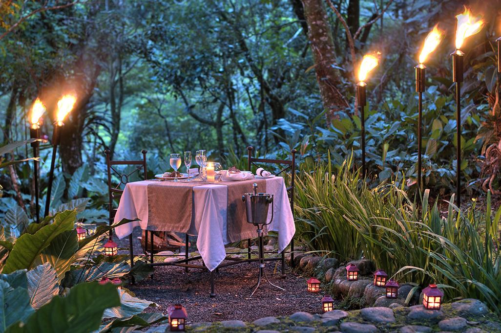 Monteverde Lodge Romantic Dinner