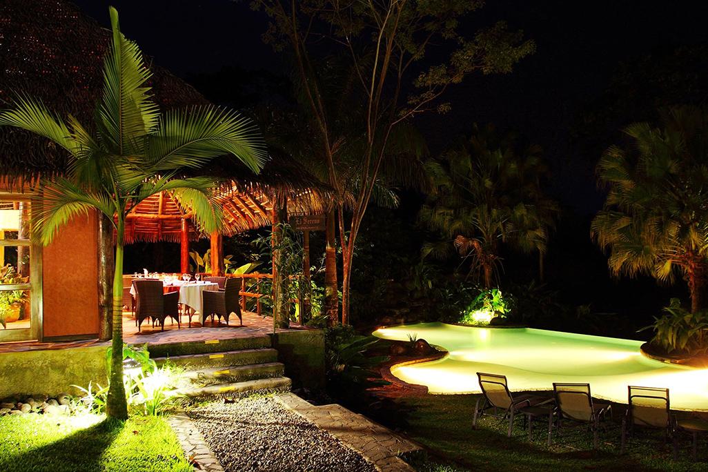 Sarapiquis Rainforest Lodge Restaurant Pool