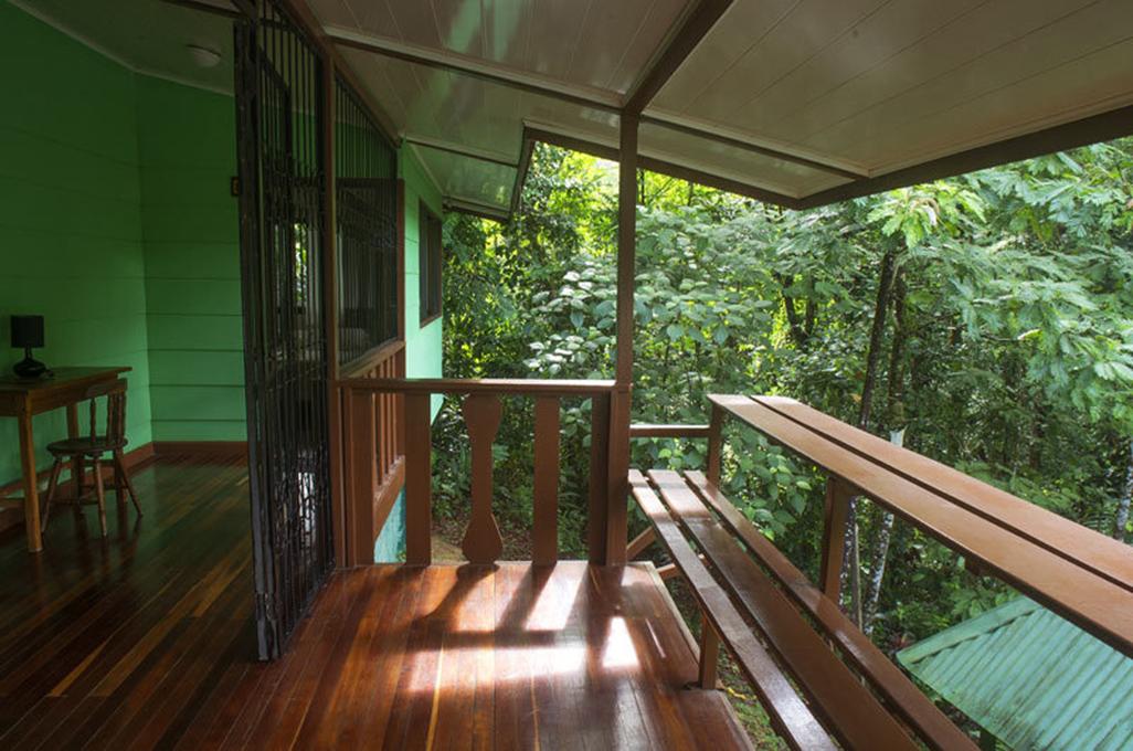 Selva Verde Lodge Bungalow Balcony