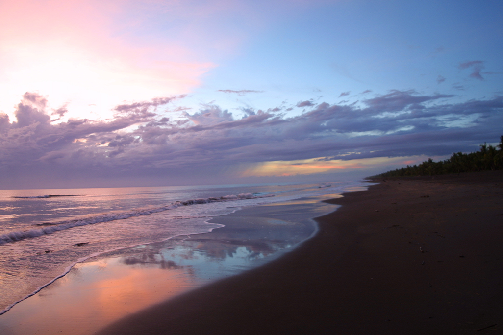 Turtle Beach Beach Sunset