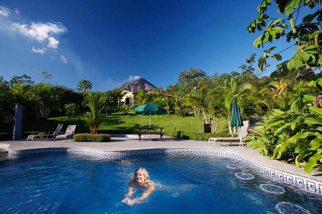 Arenal Volcano Inn Pool