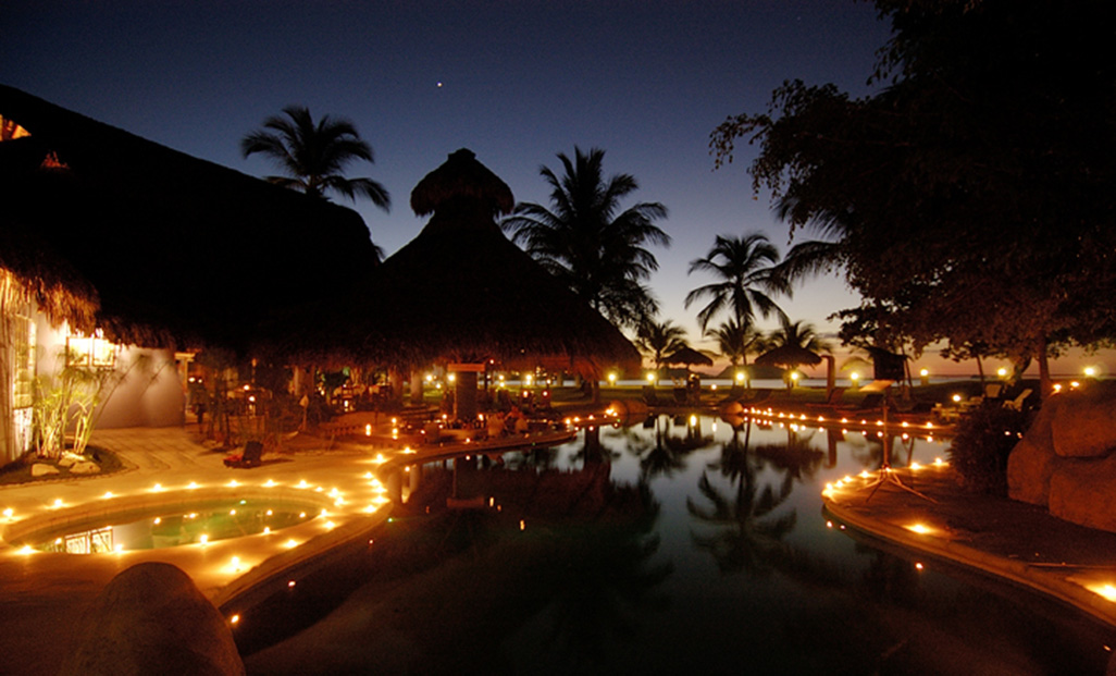 Bahia Del Sol At Night