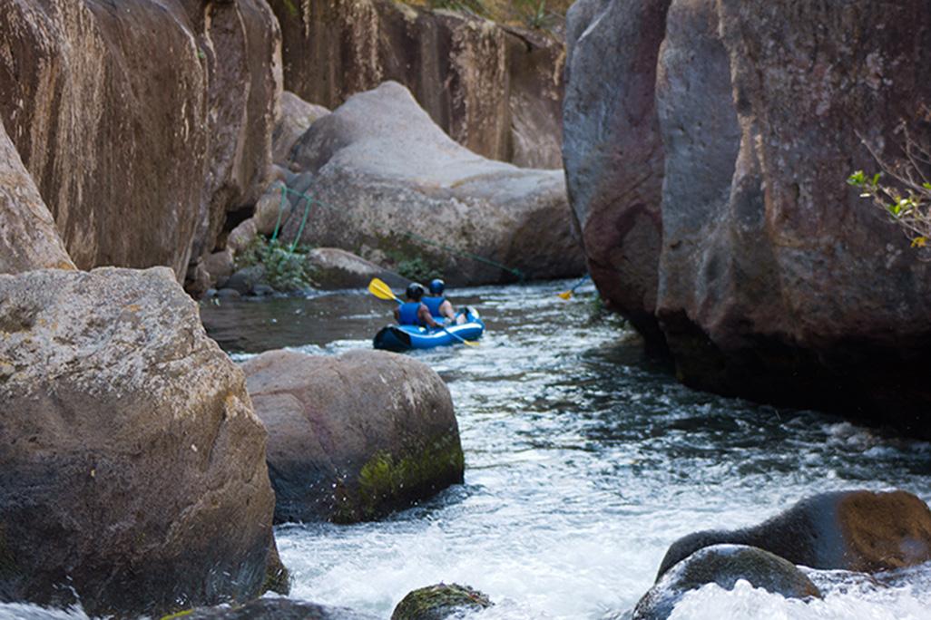 Cañon de La Vieja Rafting