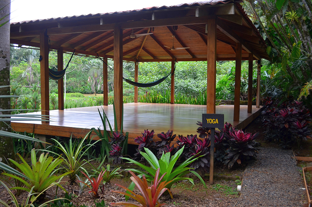 Macaw Lodge Yoga Deck