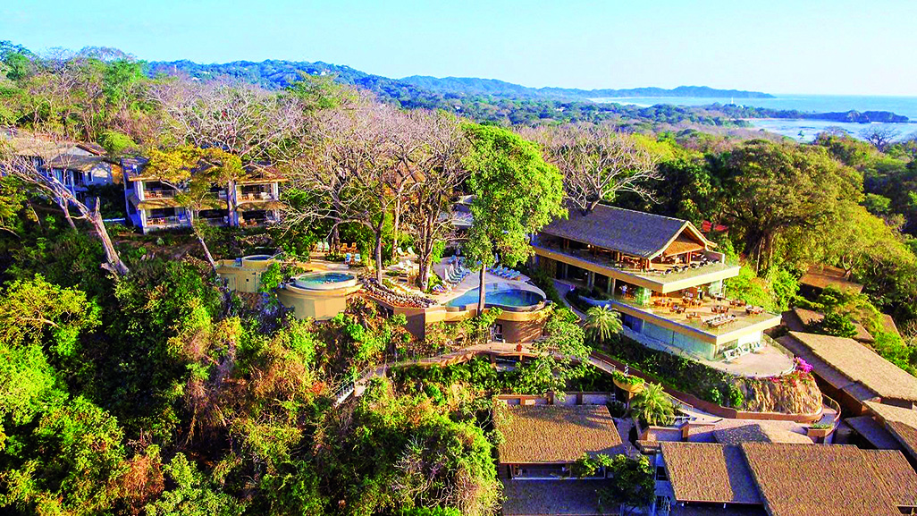 Nosara Lagarta Lodge Panoramic Aerial
