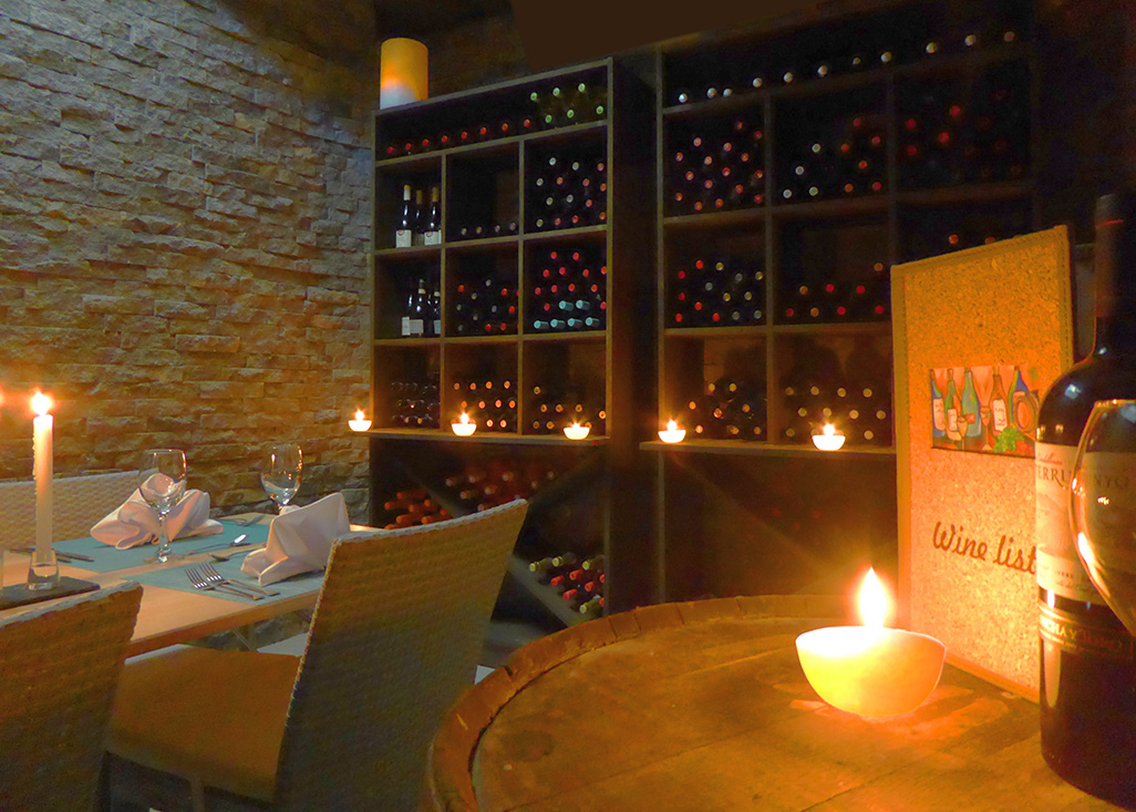 Nosara Lagarta Lodge Restaurant Wine Cellar