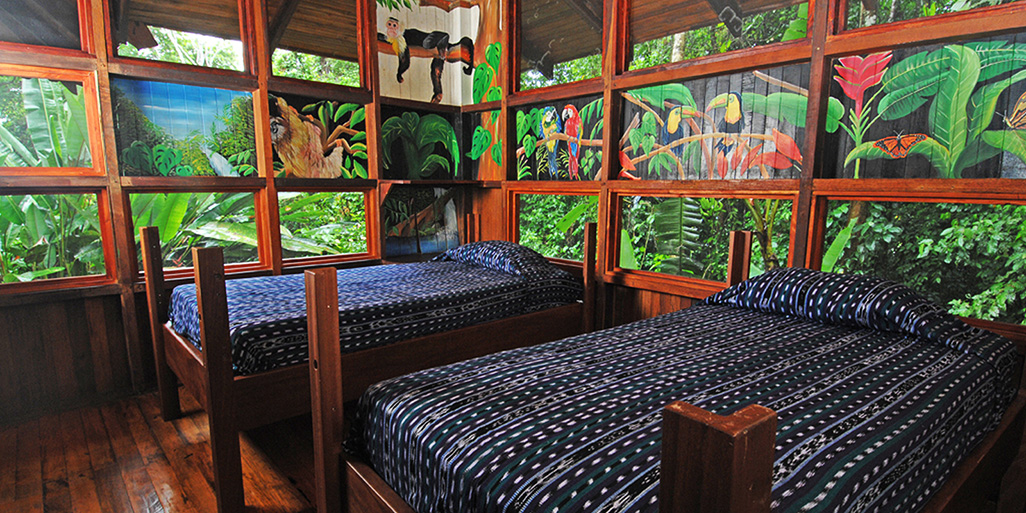 Playa Nicuesa Room Inside Two-Bedrooms Cabin