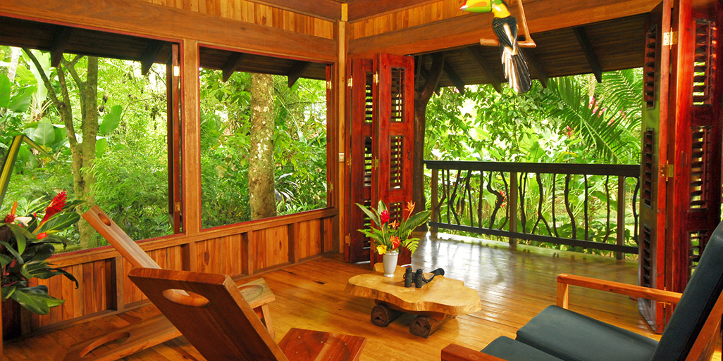 Playa Nicuesa Two-Bedroom Living Cabin
