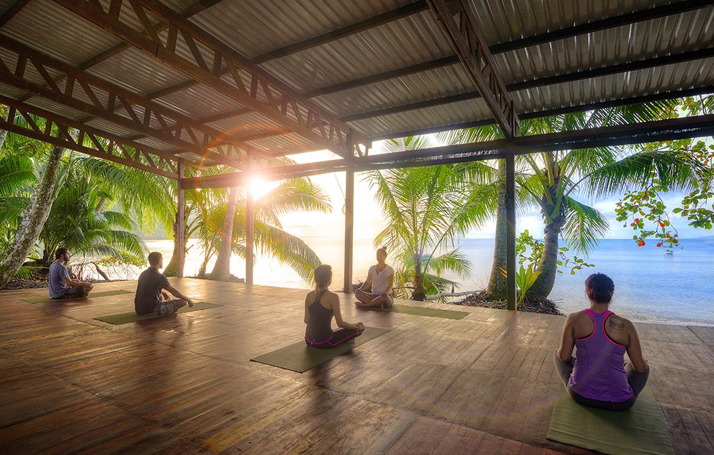 Playa Nicuesa Yoga