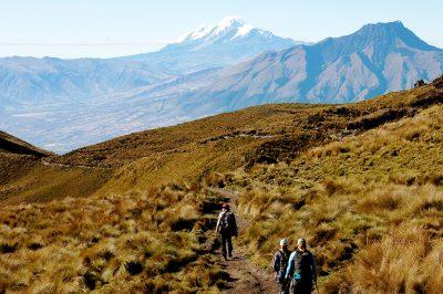 Trekking, Ecuador